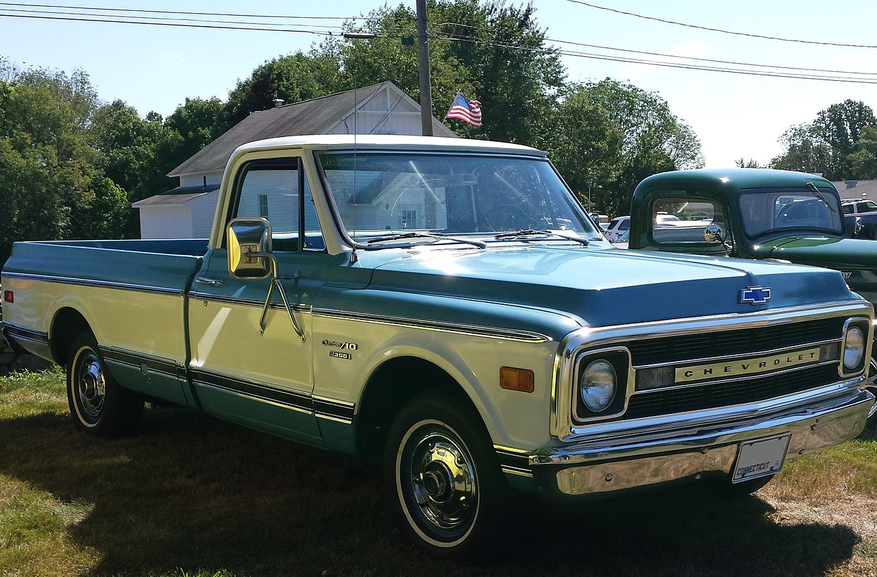 File 1970 Chevrolet C10 Fleetside Jpg Wikimedia Commons