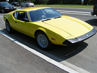 "De Tomaso Pantera - The 1973 De Tomaso Pantera L, with bigger ""safety bumpers"""