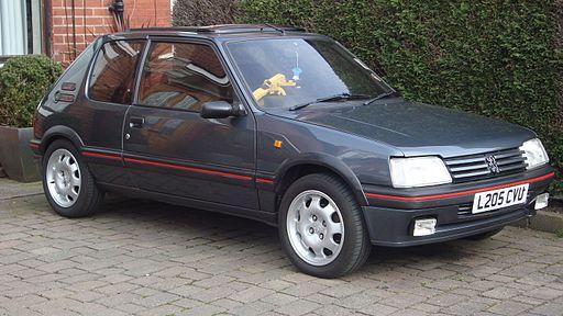 1993 Peugeot 205 1.9 GTI (13145658745)