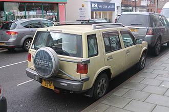 Nissan Rasheen - Nissan Rasheen (UK)
