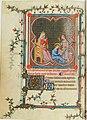 1 Jean Le Noir Miniature from Hours of Jeanne de Navarre. 1336-40 Paris, Bibliotheque nationale de France..jpg
