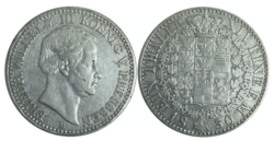 Silver coin: 1 thaler Wilhelm III, 1830 (Source: Wikimedia)