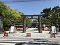 1st torii of Hakozaki Shrine 2.jpg
