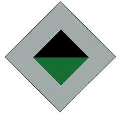 2-17th Battalion original colour patch