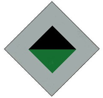 2/17th Battalion (Australia) - Image: 2 17th Battalion original colour patch