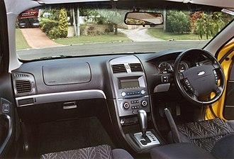 Ford Falcon (BA) - Interior