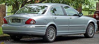 Jaguar X-Type - Saloon (pre-facelift)