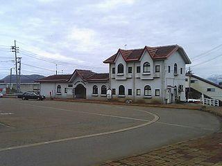 Sekiyama Station Railway station in Myōkō, Niigata Prefecture, Japan