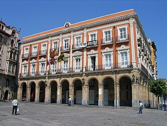 Portugalete - Portugalete town hall.