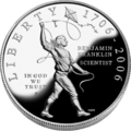 2006 BFranklin Scientist Proof Obv.png