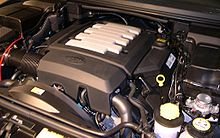Engine The Range Rover Sport