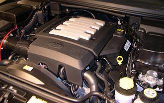 Jaguar AJ-V8 engine - 4.4-litre V8 in a 2006 Range Rover Sport