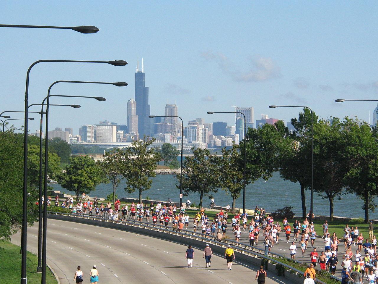 Archivo:20070909 Chicago Half Marathon.JPG - Wikipedia, la ...