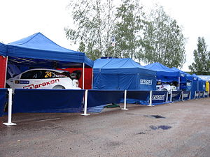 2007 Rally Finland preparations 07.JPG
