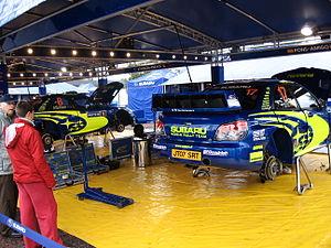 2007 Rally Finland preparations 13.JPG