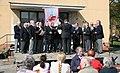 2008-04-27 Berlin Domaene Dahlem Chor der Fleischerinnung Auftritt.JPG