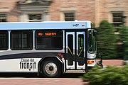 2008-07-11 Chapel Hill bus passing South Building