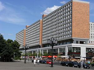 Rathauspassagen - The centre, 2008