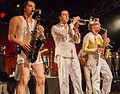 2009-02-22 Fred Kellner feat. die Horny Horny Horns, Kantine, Koeln IMG 5471.jpg