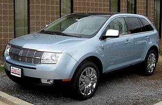 Lincoln MKX - Pre-facelift Lincoln MKX