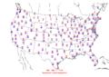 2010-01-27 Max-min Temperature Map NOAA.png