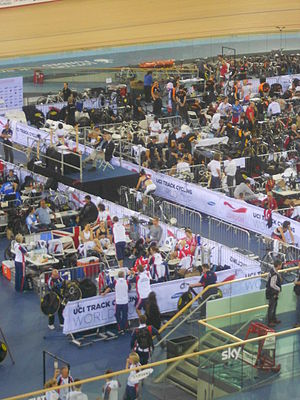 2011–12 UCI Track Cycling World Cup - Track World Cup in London.