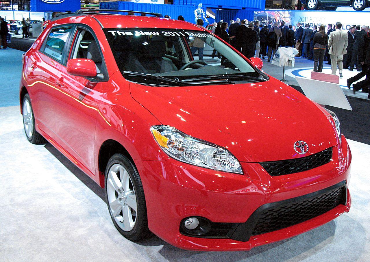 Toyota toyota matrix awd manual transmission : Toyota Matrix - Wikiwand