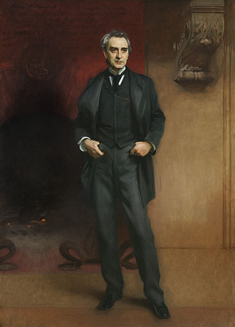 Edwin Booth - Portrait of Edwin Booth by John Singer Sargent, 1890, which hung at The Players clubhouse. Now in the collection of the Amon Carter Museum of American Art.