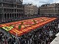 2014 Flower Carpet Brussels Infiorate on Grand Place 01.jpg