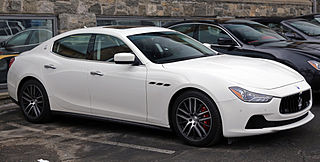 Maserati Ghibli Car models sold by Italian automobile manufacturer Maserati
