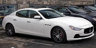 Maserati Ghibli Car models sold by Italian automobile manufacturer Maserati