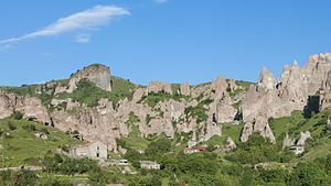 Goris - The settlement of old Kores