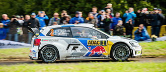 2015 World Rally Championship - The Volkswagen Polo R WRC, car entered by Volkswagen Motorsport, who successfully defended manufacturers' title.