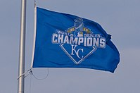 2015 Kansas City Royals World Series Champions Flag (25696805494).jpg