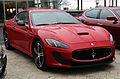 2015 Maserati GranTurismo MC, front right (rosso).jpg