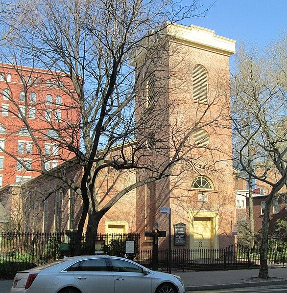 Iglesia St Lukes West Village Nueva York