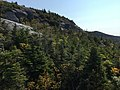2017-09-11 10 32 22 View east from the Maple Ridge Trail at about 2,920 feet above sea level on the western slopes of Mount Mansfield within Mount Mansfield State Forest in Underhill, Chittenden County, Vermont.jpg