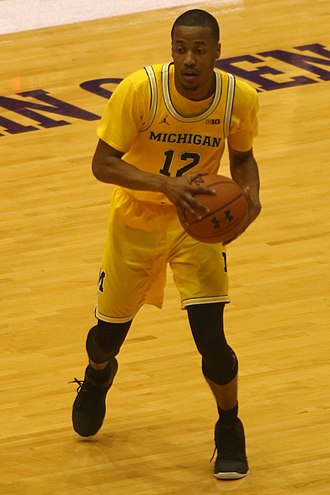 Muhammad-Ali Abdur-Rahkman - Abdur-Rahkman in March 2017 for the 2016–17 Wolverines