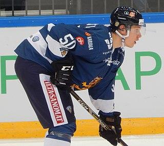 Miika Koivisto Finnish ice hockey player