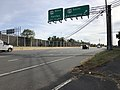 2018-11-01 14 43 25 View south along Virginia State Route 28 (Sully Road) at the exit for U.S. Route 29 SOUTH (Gainesville) in Centreville, Fairfax County, Virginia.jpg