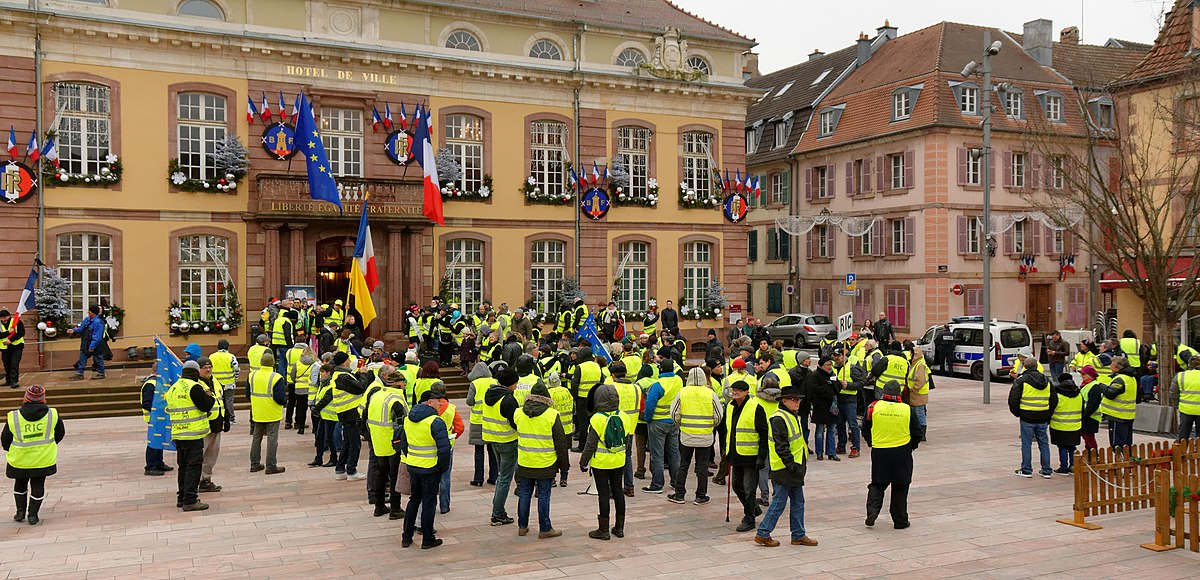 mouvement des gilets jaunes en france wikip dia. Black Bedroom Furniture Sets. Home Design Ideas