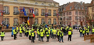 Yellow vests movement 2018 social movement started in France