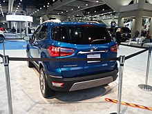 2018 ford ikon. delighful ford 2018 ford ecosport facelift back inside ford ikon