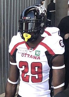 Kevin Francis (Canadian football) Professional Canadian football linebacker