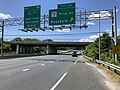 2019-06-14 14 11 17 View north along the Outer Loop of the Baltimore Beltway (Interstate 695) at Exit 34 (Maryland State Route 7-Philadelphia Road, Rosedale) on the edge of Rosedale and Rossville in Baltimore County, Maryland.jpg