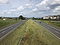 2019-08-17 15 06 21 View north along U.S. Route 15 and east along U.S. Route 340 (Jefferson National Pike) from the overpass for Jefferson Technology Parkway in Ballenger Creek, Frederick County, Maryland.jpg