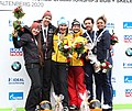 2020-03-01 Medal Ceremony Skeleton Mixed Team competition (Bobsleigh & Skeleton World Championships Altenberg 2020) by Sandro Halank–035.jpg