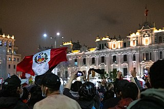 2020 Peruvian protests Demonstrations against the removal of President Vizcarra