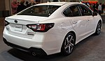 2020 Subaru Legacy Touring XT FWD rear NYIAS 2019.jpg