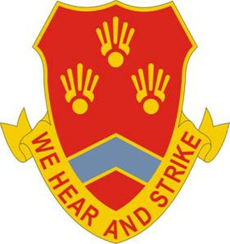 214th Field Artillery Regiment - Image: 214 FA Rgt DUI